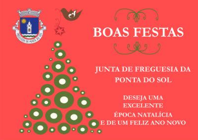 Boas Festas 2019 | Junta de Freguesia da Ponta do Sol