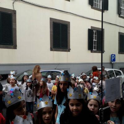 Visita dos alunos da EB1/PE/Creche da Ponta do Sol