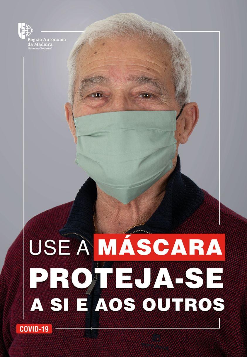 Proteja-se a si e aos outros! Use a máscara...