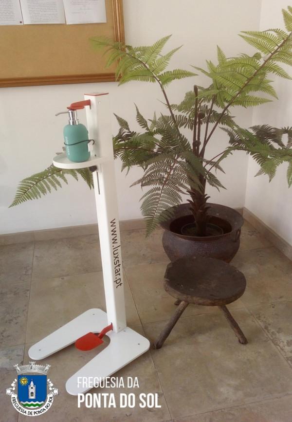 Oferta de dispensador mecânico para gel desinfetante