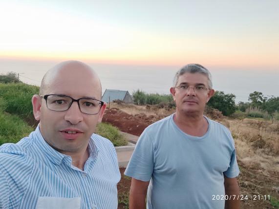 Executivo visita obras na Ponta do Sol