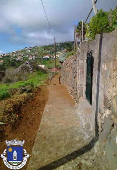 Limpeza e manutenção de vereda   Lombo de São João