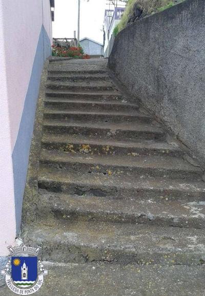 Limpeza de veredas e levadas | Sítio - Lombo de São João