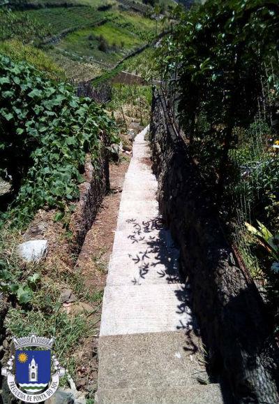 Recuperação e pavimentação | Vereda no sítio do Jangão