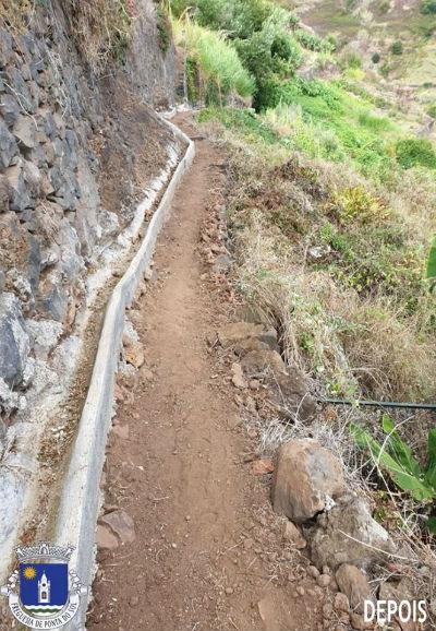 Limpeza e desmatação da vereda da Fonte D'Ama | Pico do Anjo e o Luzirão