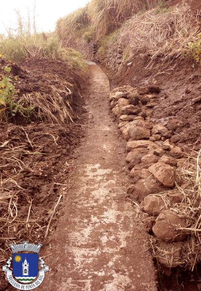 Limpeza da vereda e levada | Sítio da Aberta e o Sítio da Amendoeira - Caminho Castanheiro