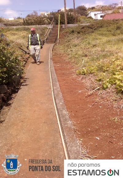 Freguesia da Ponta do Sol continua ativa | limpeza e manutenção