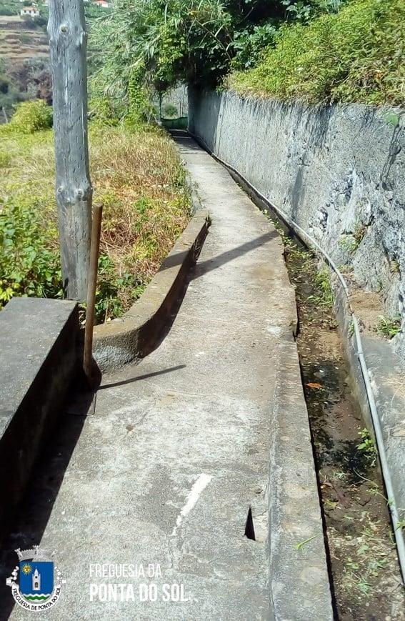 Continuamos no sítio da Lombada em mondas e limpezas