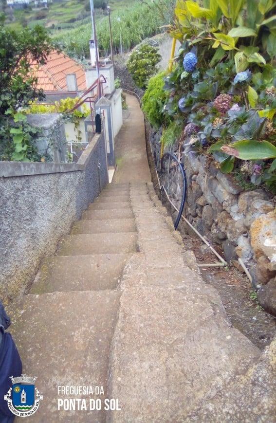 Veredas e levadas limpas na Ponta do Sol