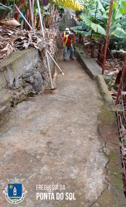 Mondas e limpezas sítios dos Lemes e Mantilha | Ponta do Sol