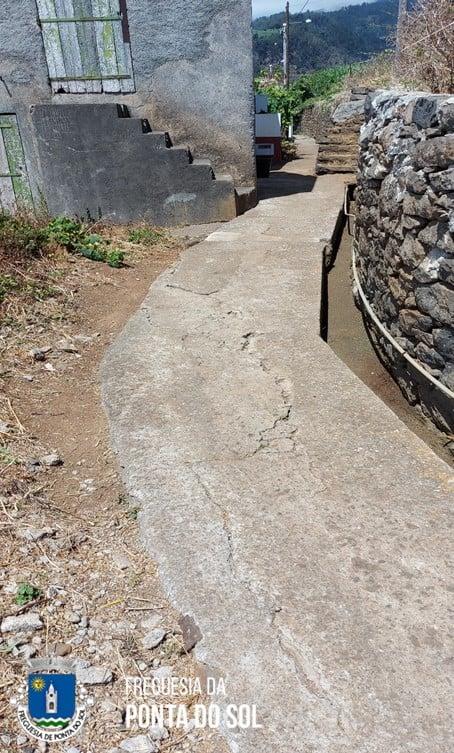 Continuamos em limpezas na zona da Lombada