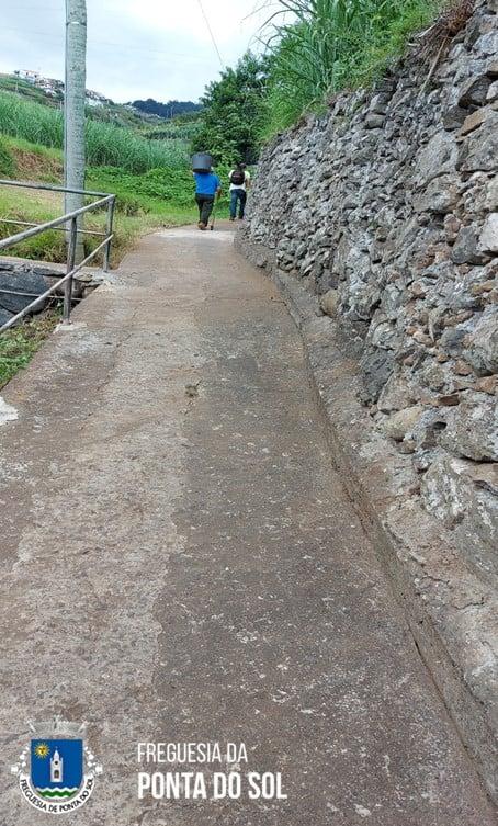Sítio do Pico do Anjo-Lombada | mondas e limpezas