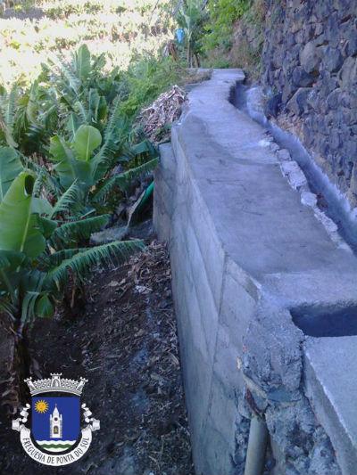 Reparação de muro | Lugar de Baixo