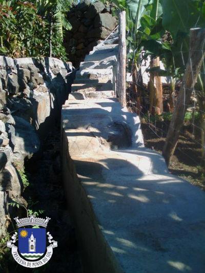 Limpeza e pavimentação da vereda | Sítio dos Lemes