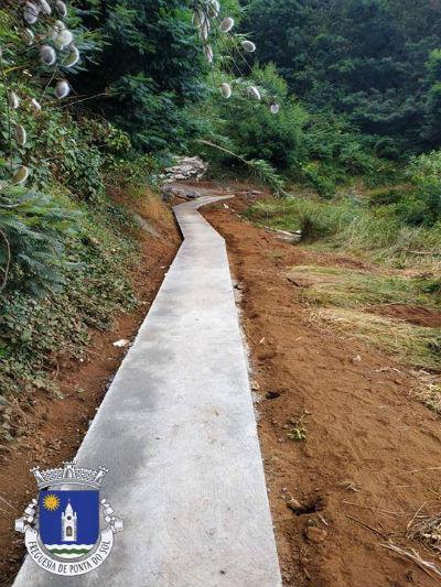 Pavimentação de vereda | Sítio da Achada