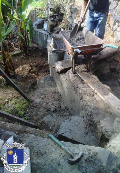 Pavimentação de levada | Sítio do Luzirão