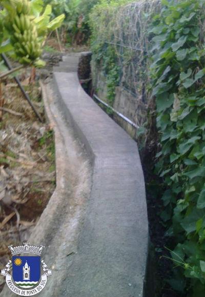 Pavimentação de vereda agrícola | Estrada Nova - Caminho do Jangão