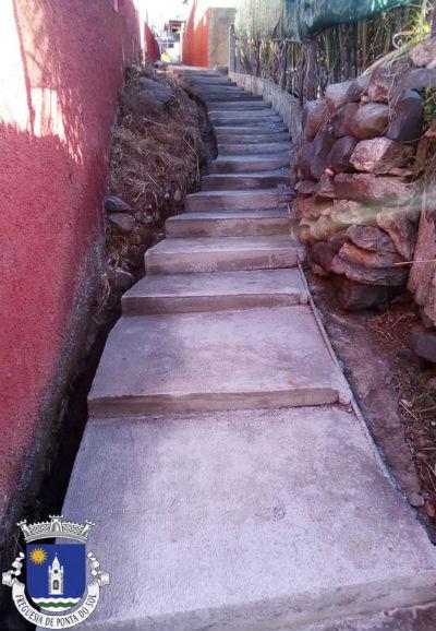 Recuperação de vereda e levada | Estrada da Pavana ao caminho da Aberta, Pomar D. João