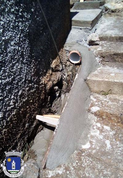 Recuperação de levada e pavimento | Sítio da Laje no Lombo do Lombo das Terças