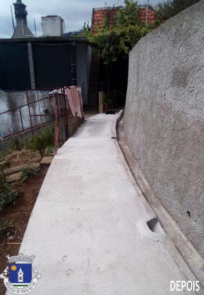 Recuperação do pavimento | Sítio do Tornadouro