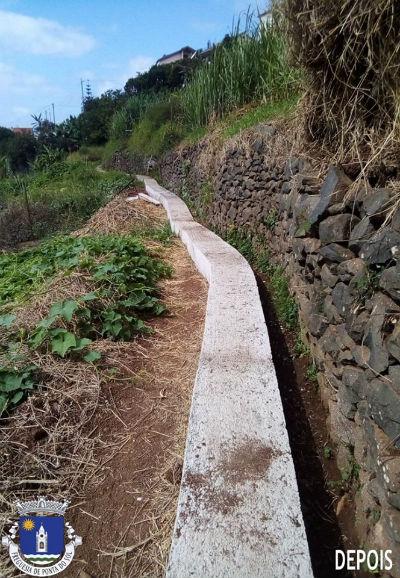 Recuperação e pavimentação de uma vereda e levada  | Sítio do Jangão - Lombada
