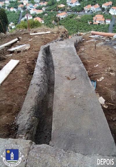 Desmatação, limpeza, regularização e pavimentação | Sítio do Pico da Amendoeira – Lombada