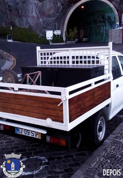 Reparação da carrinha da Junta de Freguesia da Ponta do Sol