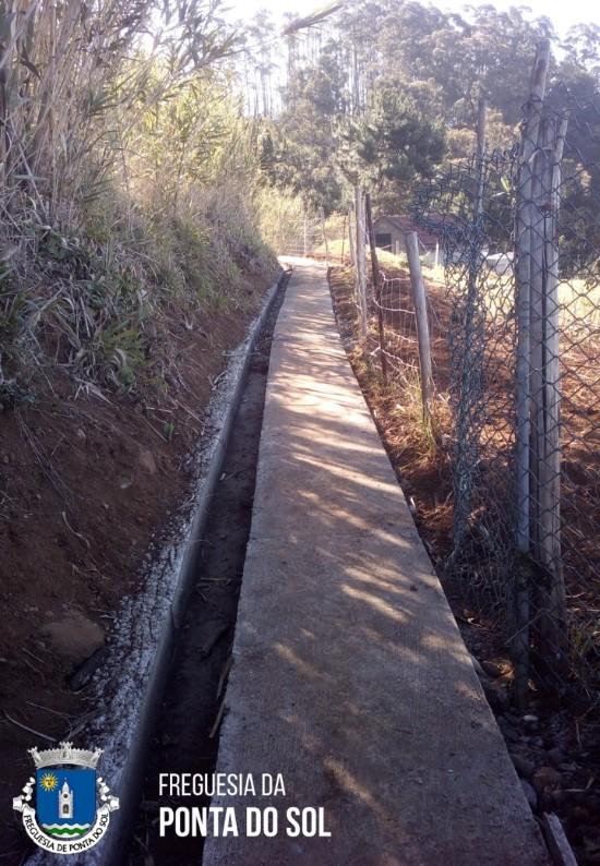Obras de proximidade no sítio da Fonte do Coxo - Pomar D. João
