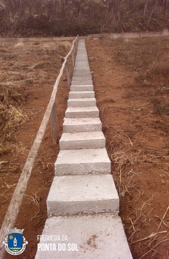 Sítio do Pomar D. João | acessos de apoio aos agricultores