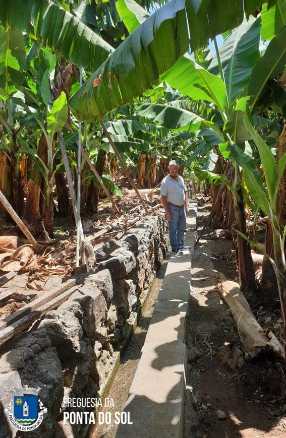 Lugar de Baixo | 40 metros de vereda e levada para os nossos terrenos agrícolas