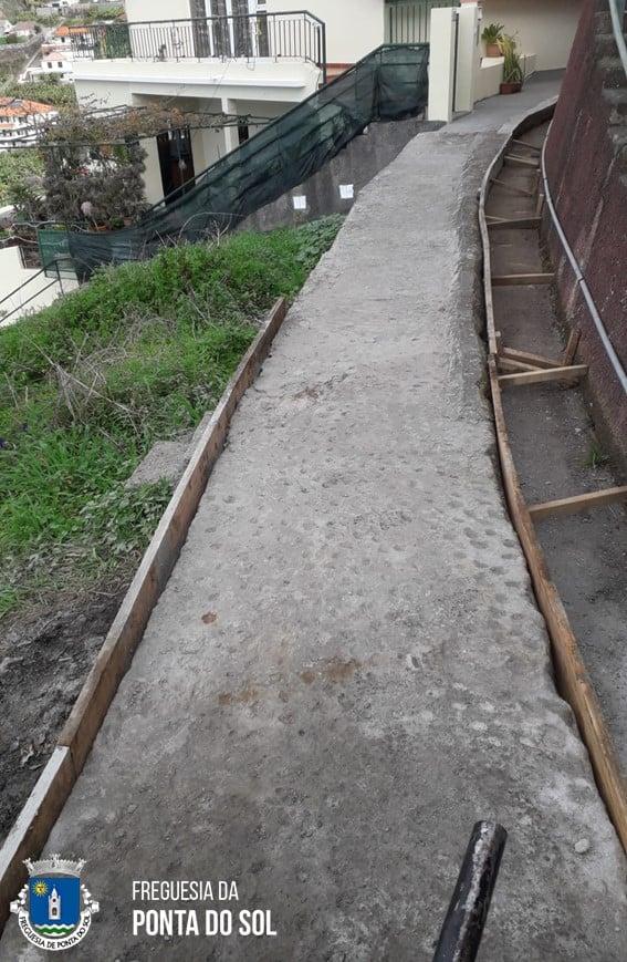 Reparação de 125 metros de vereda e levada no sítio do Pico da Amendoeira - Lombada