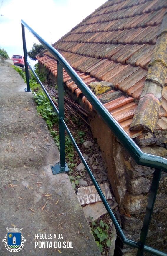 Varanda de 25 metros na vereda do Pico do Anjo – Lombada