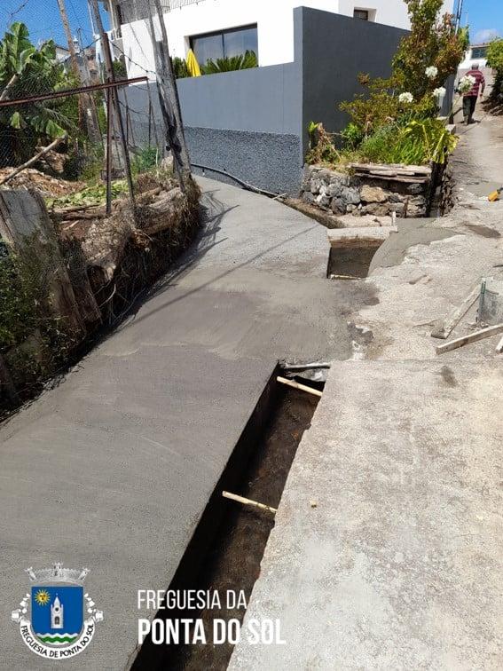 Pico das Tabaibeiras | reparação e pavimentação de parte da vereda e levada